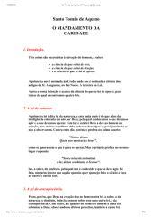 O Mandamento da Caridade - Santo Tomás de Aquino.pdf