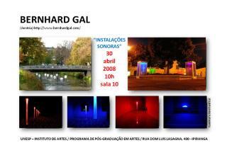cartaz instalações sonoras bernhard gal.doc